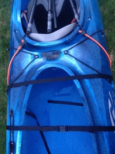 kayak cart top view
