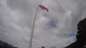 English Camp Flag