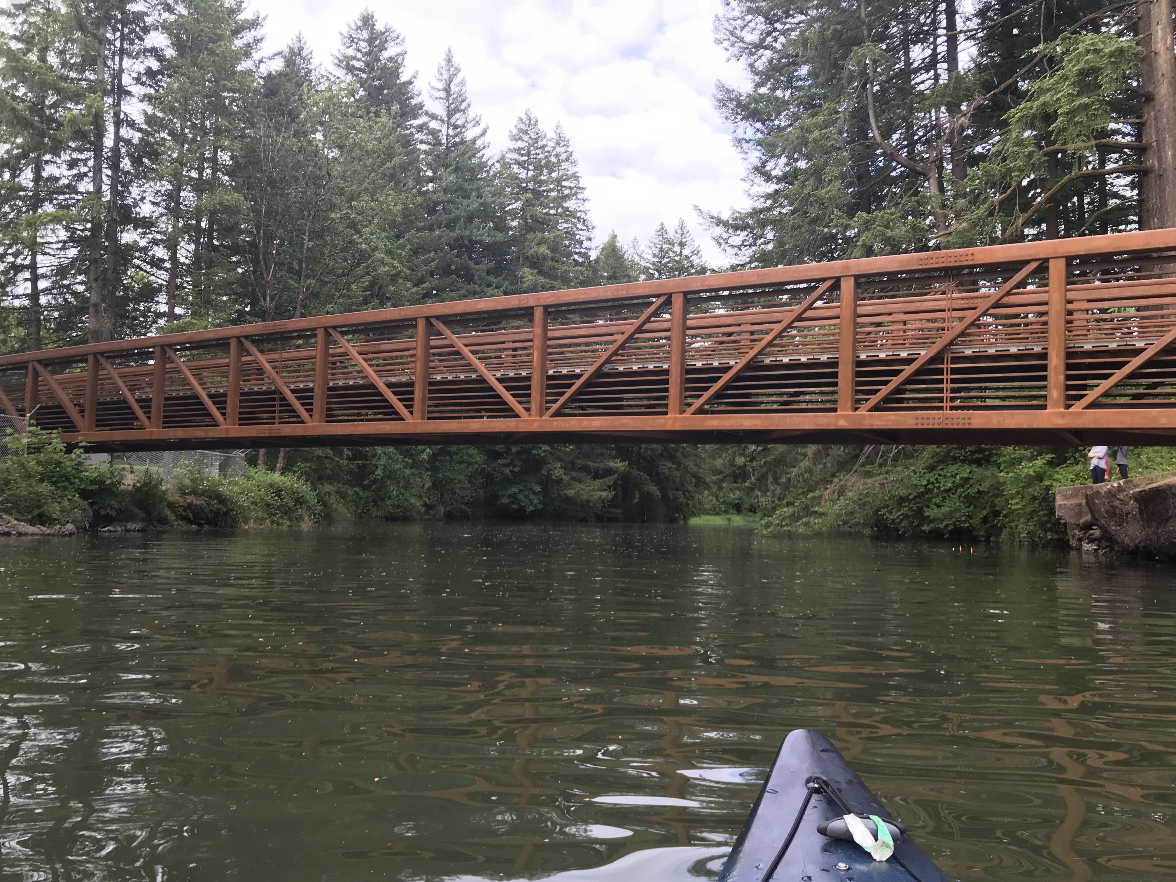 Paddling Lacamas lake and round lake  – Kayaking Seattle